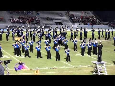 Ocean Springs High School marching band - 10/10/2015