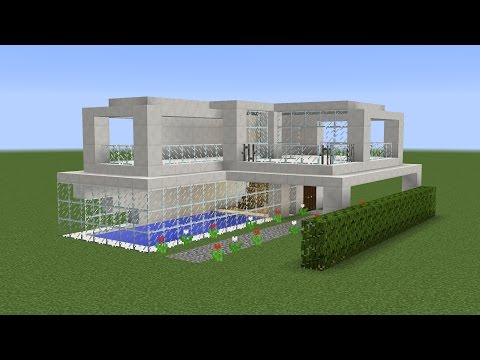 Minecraft - How to build a modern vacation house