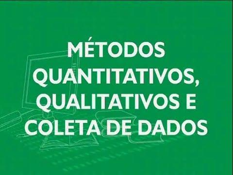 Dados quantitativos e qualitativos
