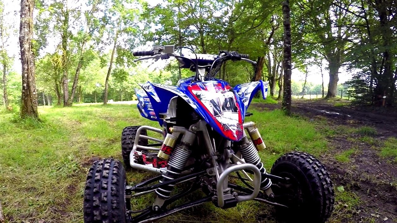 quad yamaha 450 yfz riding youtube. Black Bedroom Furniture Sets. Home Design Ideas