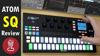Review: ATOM SQ and its innovative offset pads // 3 pros & cons w/Ableton Live & Presonus Studio One