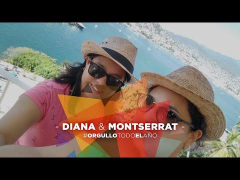 Diana y Montse 🏳️🌈❤️ #OrgulloTodoElAño