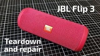 JBL Flip 3 Teardown and USB Repair