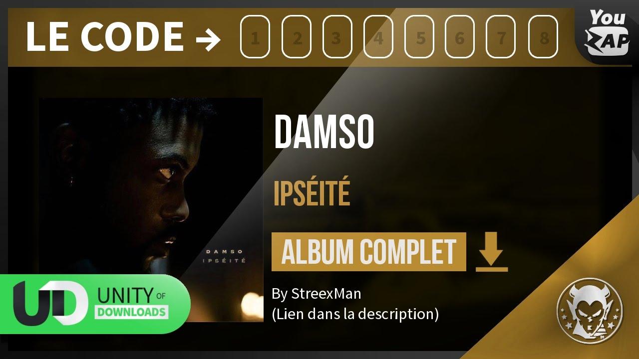 Très Télécharger Damso - Ipséité [Album Complet] 2017 - YouTube BG34