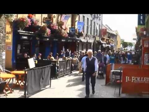Galway, Ireland, one of the most chilled out spots in Western Europe