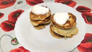 Завтрак за 5 минут! Блинчики из банана и яиц без муки и  сахара!