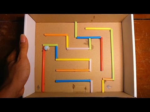 How To Make This Fun And Easy Marble Maze Craft For Kid