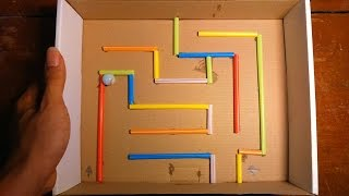 How To Make This Fun And Easy Marble Maze - Craft For Kid.