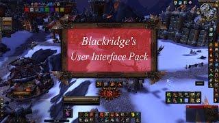 WoW UI - Blackridge's Interface (German) [HD]