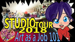 Studio Tour 2018 Art as a Job 101