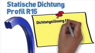 Statische Dichtung Profil R15