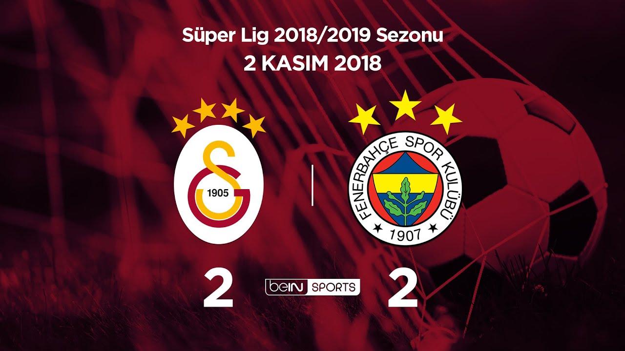 02.11.2018 | Galatasaray-Fenerbahçe | 2-2