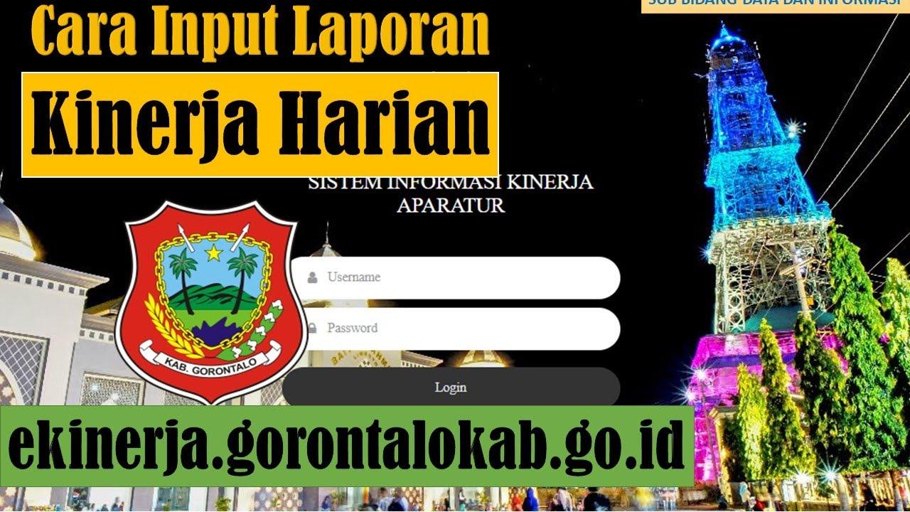 Tutorial Penilaian Skp Bawahan Pada Ekinerja Kabupaten Gorontalo Youtube