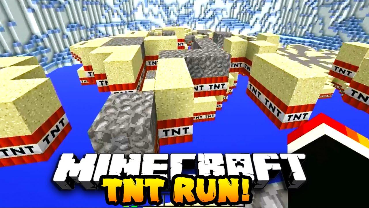 Minecraft Tnt Run Lag Hacks  W Prestonplayz Campingrusher Youtube