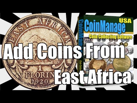 CoinManage - Add Coins from East Africa to the database
