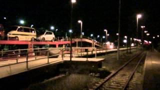 """CNL 1247 """"Capella"""" - letzter Autoreisezug ab Berlin-Wannsee"""
