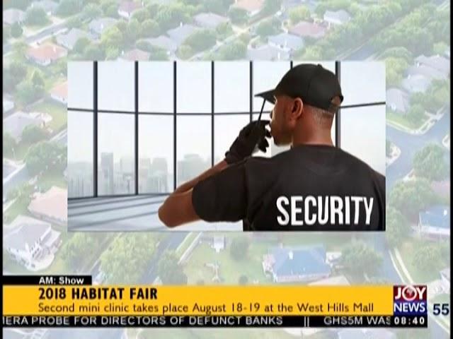 2018 Habitat Fair - AM Show on JoyNews (17-8-18)