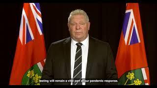#MedLabThx: Premier Doug Ford