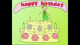 Поздравление с днем рождения / happy birthday от бабушки Шошо.