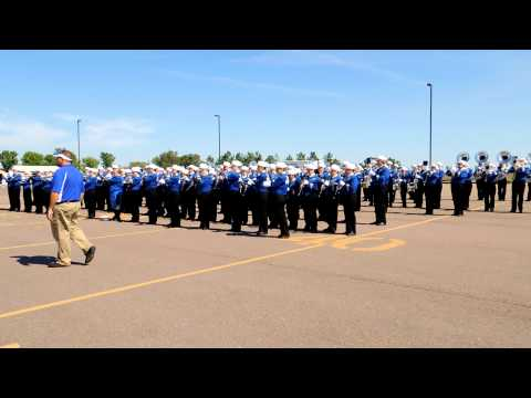"""Ring The Bell"" - The Pride of the Dakotas Marching Band"