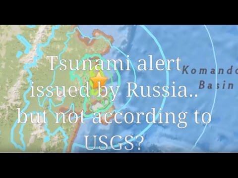 RUSSIA: Tsunami alert after 6.6 quake