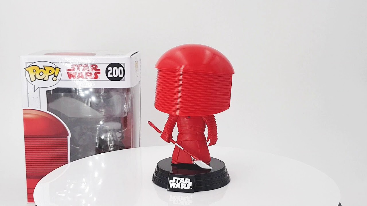 Praetorian Guard The Last Jedi Funko Pop Vinyl Figure #200 Star Wars