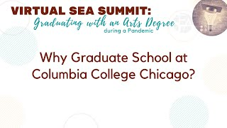 Why Graduate School at Columbia College Chicago?
