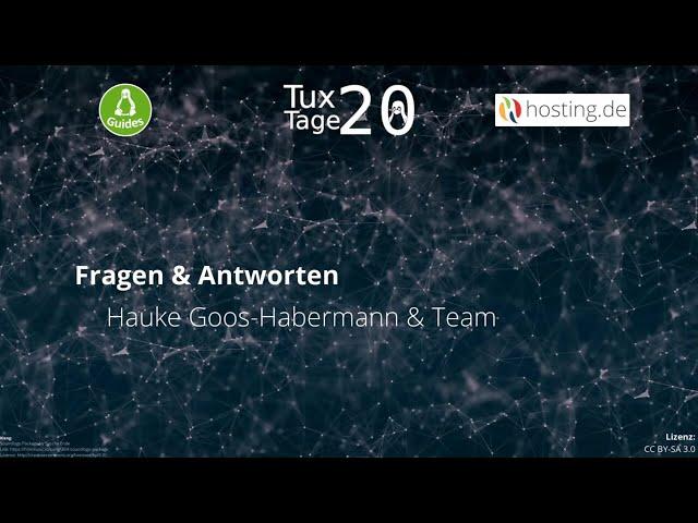 Fragen & Antworten – Hauke Goos-Habermann & Team - Tux-Tage 2020