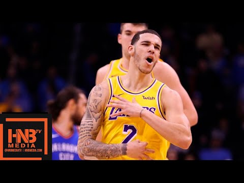 Los Angeles Lakers vs OKC Thunder Full Game Highlights | 01/17/2019 NBA Season