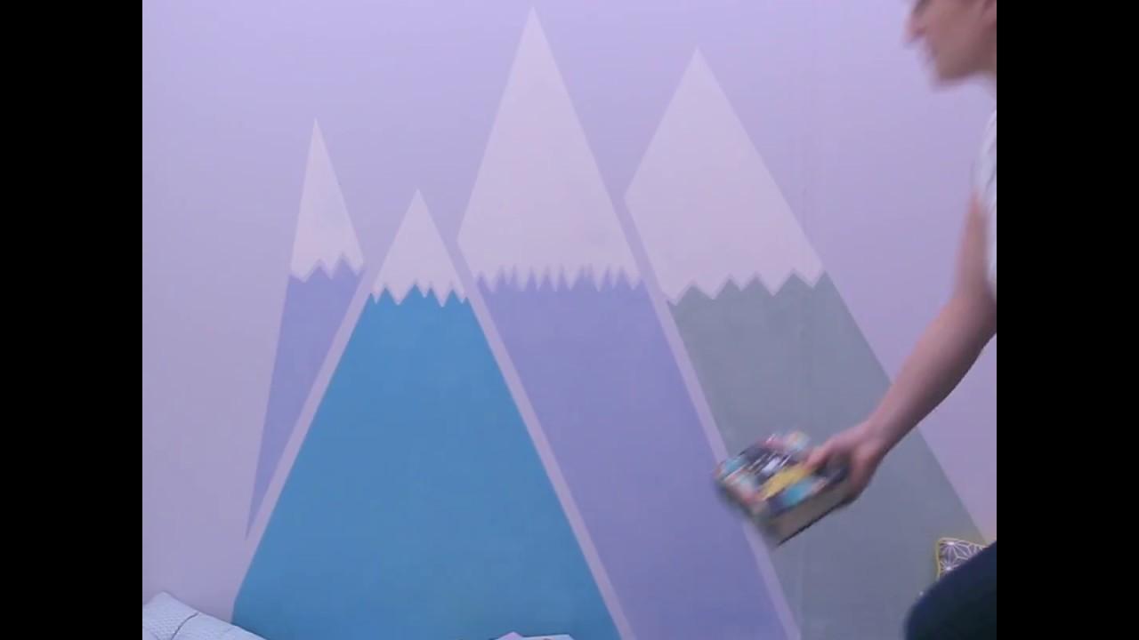 Tuto Peinture Montagnes - Ripolin Chambre d\'Enfants