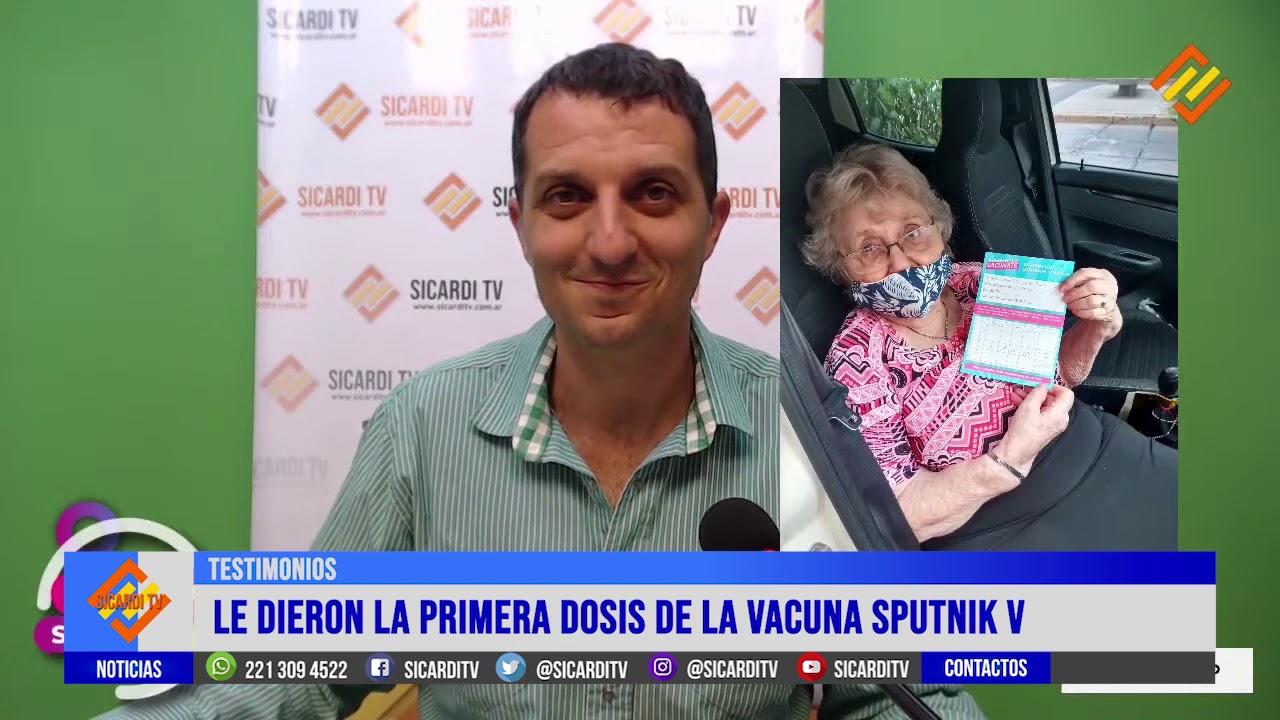 Vacunada a los 90: el testimonio de Chichi y su experiencia con la Sputnik-V