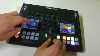 Step sequencing and scratching with GODJ Plus