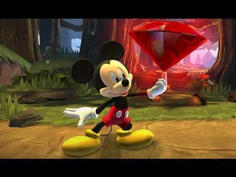 Disneys Castle of Illusion Starring Mickey Mouse - All Boss Fights - Cartoon Game for Kids HD