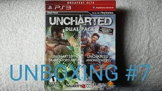 Uncharted Dual Pack PS3 Unboxing #7 en Español
