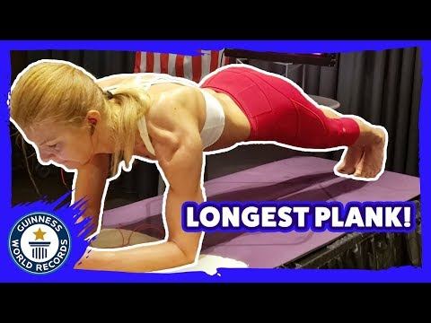 Longest Plank - Guinness World Records