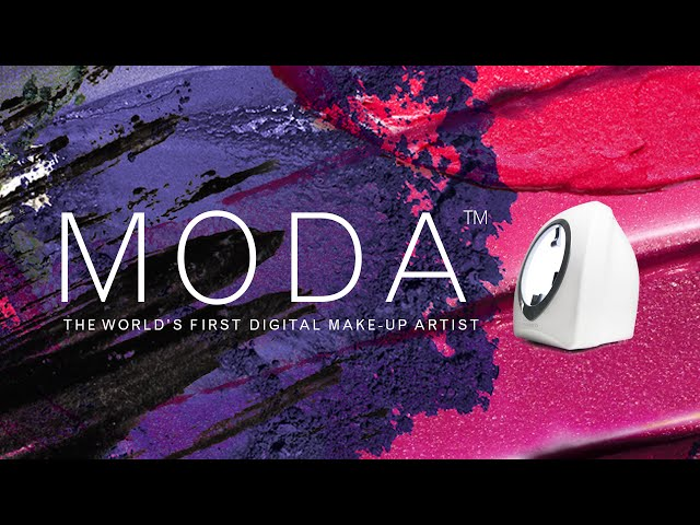 MODA™ by FOREO, the world's first digital makeup artist