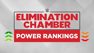 WWE Elimination Chamber 2018: Power Rankings