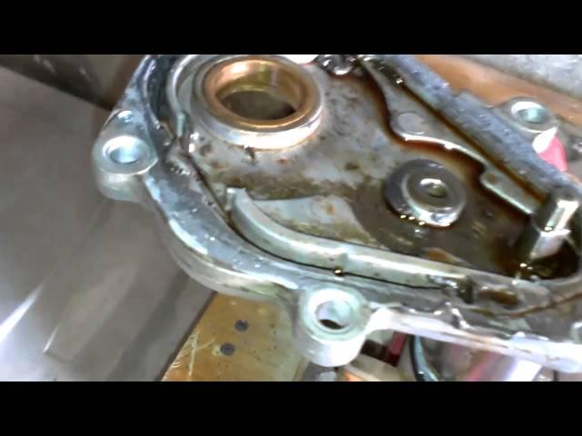 Whats inside a transfer case encoder motor - YouTube