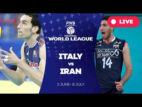 Italy v Iran - Group 1: 2017 FIVB Volleyball World League