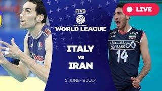 Italy v Iran - Group 1: 2017 FIVB Volleyball World League