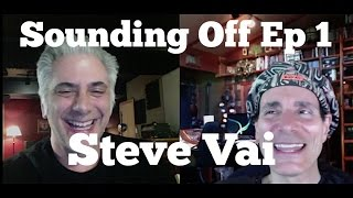 STEVE VAI Interview on Sounding Off with Rick Beato