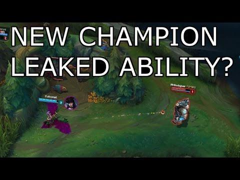 ABILITY LEAKED? // NEW CHAMPION