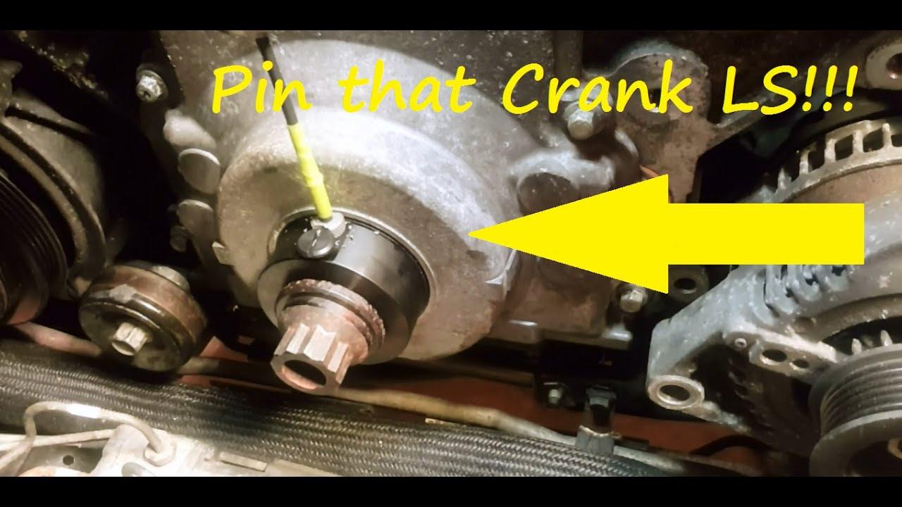 ATI super damper crank pin kit # ATI918993  Pin ls style crank pulley
