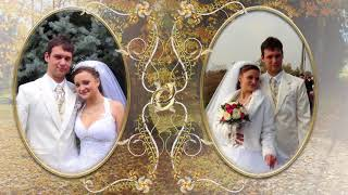 свадьба осенняя фотоклип