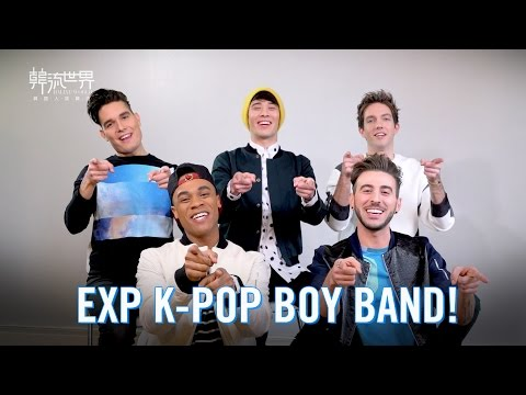 EXP: Meet the first K-POP Boy Band in NYC!