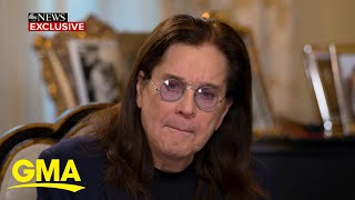 Ozzy Osbourne reveals health diagnosis for 1st time after a year of challenges l GMA