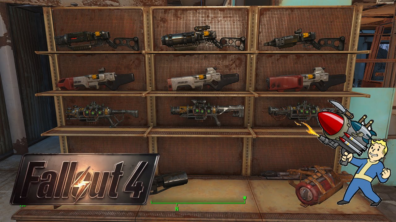 Fallout 4 Weapons Shop And Rack System Tutorial No Mods