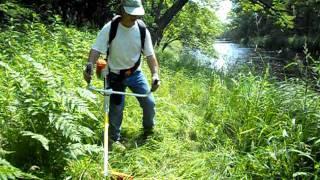 Stihl fs450 grass cutting blade