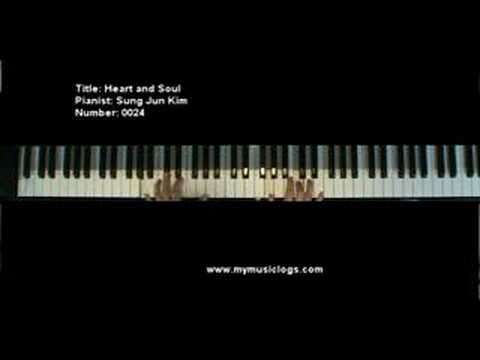 Heart and Soul - Piano with sheet music