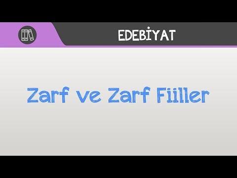 Zarf ve Zarf Fiiller
